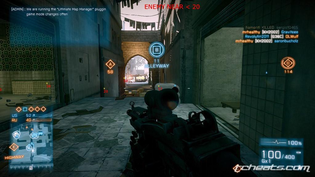 Battlefield 3 hacks & cheats - Free BF3 hacks | Page 1
