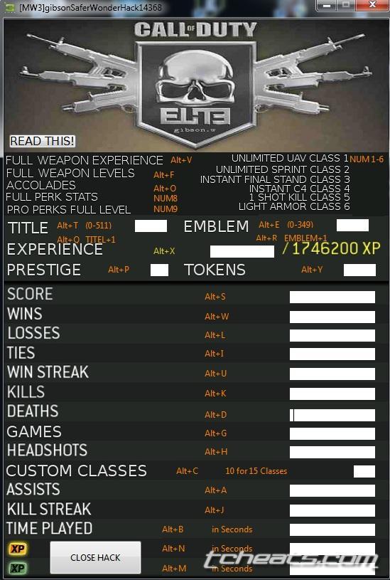 Modern Warfare 3 hacks & cheats - Free CoD MW3 hacks | Page 1